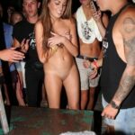Public nudity photo teengirlstripping:Hid her clothes. Humiliated naked in a…