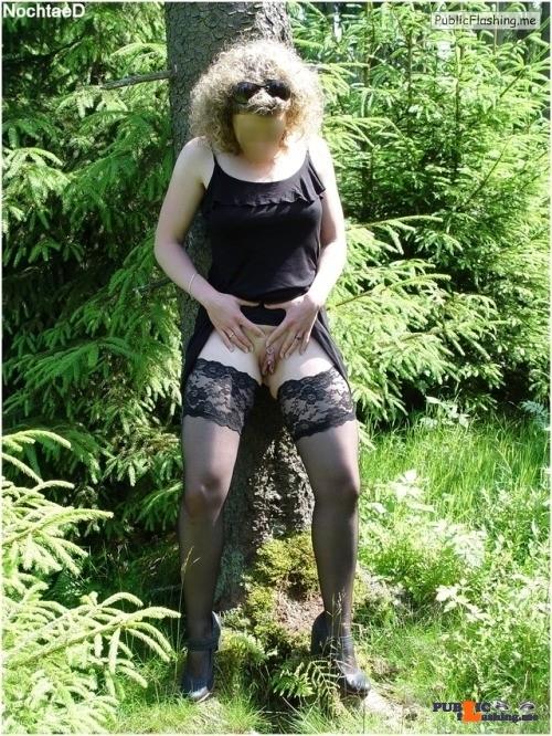 No panties alistergee: Regen ? – Nein, heute Morgen war es sehr sonnig. ☀? pantiesless
