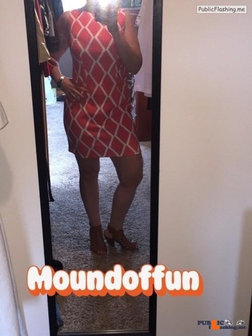 Public Flashing Photo Feed : No panties moundoffun: Happy Easter??!! Headed to teach Sunday school and… pantiesless