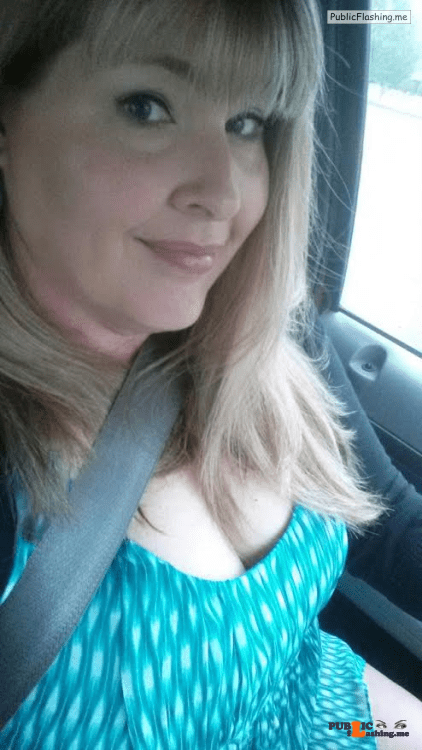 No panties Naughty in the car, but how naughty? pantiesless