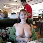 Public flashing photo Photo