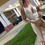 Hotfallingdevil masturbating on parking lot in live cam show