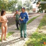 Public nudity photo kinkissx:workers during a break (slave workers are generally…