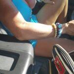 No panties oreosexy2: Cruising on a Sunday afternoon in my summer dress… pantiesless