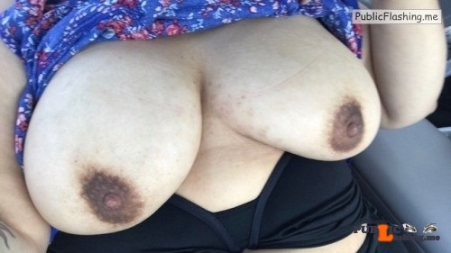 No panties alwaysscommando: Having some fun in my car pantiesless