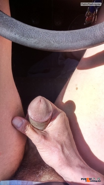 No panties sluttymidwestmilf: Having fun on my way home Like the way he… pantiesless