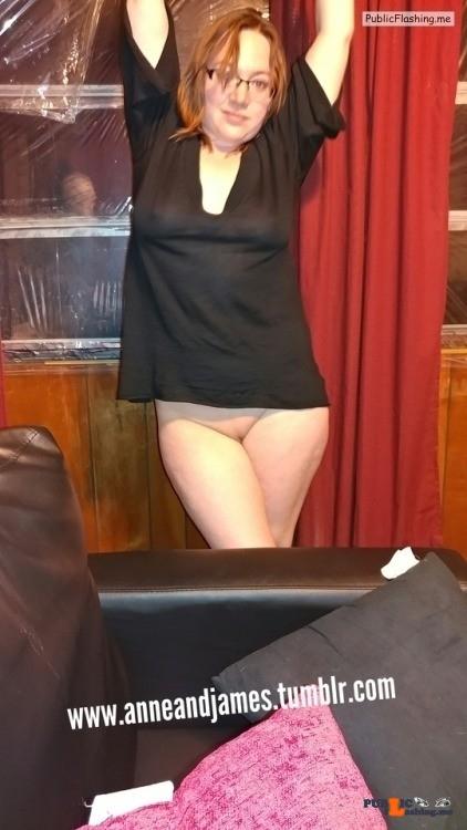 No panties anneandjames: TGIF pantiesless