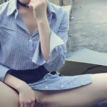 """meetslut: [汤友 暴露女友 投稿] 杭州露出""""白+黑"""",到酒店再3p… flashing in public picture"""