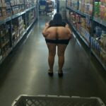 Flashing in public store Looks like there is a special on Beaver in aisle…