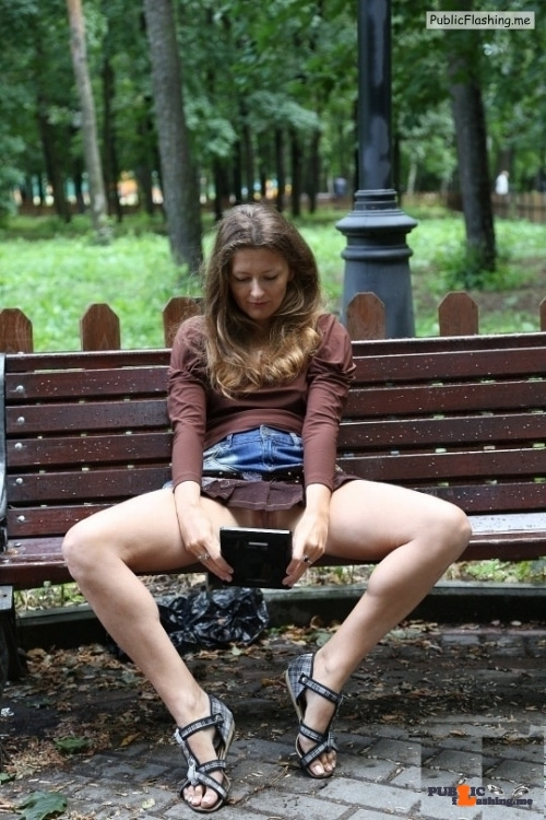 "Exposed in public ""Face"" timing… or a pussy selfie…"