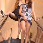FTV Babes upskirt Faye Reagan and Georgia Jones give us an upskirt view as they go…