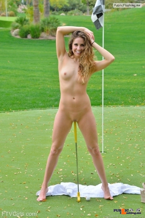 FTV Babes Reese gets very bold on the golf course. So bold, in fact, that…