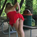 No panties randy68: Just a nice relaxing day at the park! pantiesless