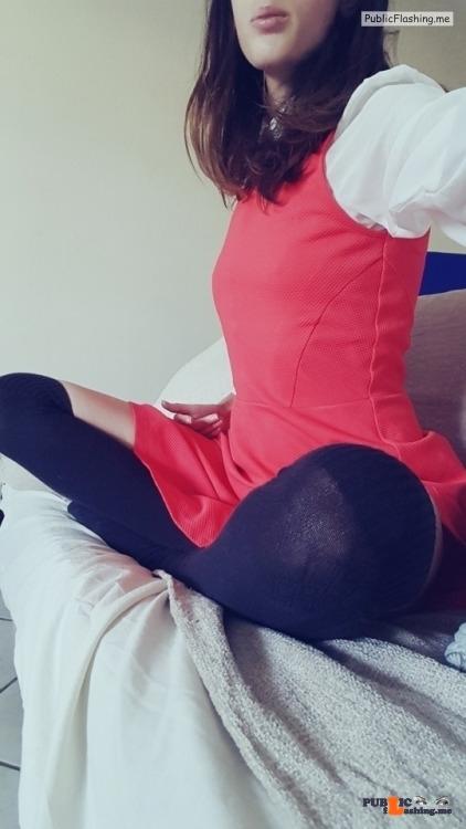 No panties thesecretsiren: Wish i had more outfits like this?feeling… pantiesless