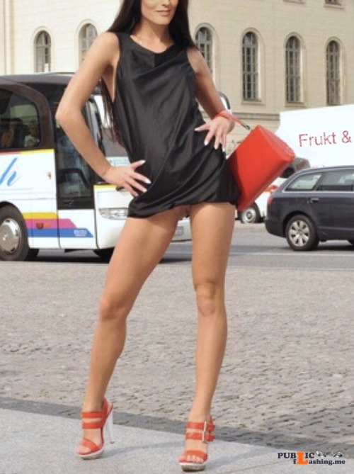 No panties stockholmcoupleblog: Farstagirl, one of our sunny? days in... pantiesless Public Flashing