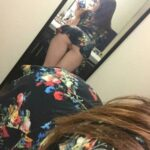No panties triplexex: Short skirt worn properly pantiesless