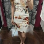 No panties deadlynightshade88: Trying on some dresses. Couldn't decide if… pantiesless