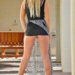 FTV Babes upskirt Melissa gets brave in public, sliding up that skirt to give us a…