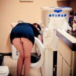 No panties orgasmic-sexy-flashing: Commando laundry day pantiesless