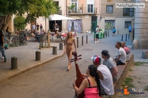 Public nudity photo nude-girls-in-public:Nude-in-public: Dominika J –  Series…