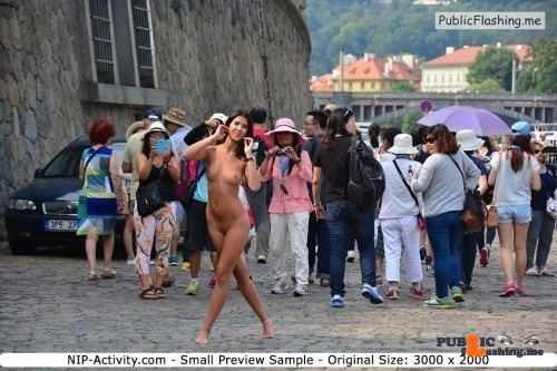 Public nudity photo nude-girls-in-public: NIP-Activity:  Drahomira  –  Series…