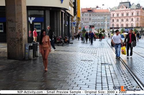 Public nudity photo nude girls in public: NIP Activity: Terra   Series... Public Flashing