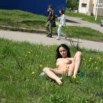 Public nudity photo nude-girls-in-public:Nude-in-Russia:  Veronika A  –  Series…