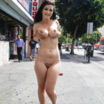 Public flashing photo nudeandnaughtyflashing: You cannot get much crazier and braver…