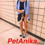 No panties petanika: Another from the subway station. I wonder what will… pantiesless