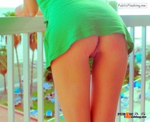 No panties hottysjourney: At the seaside… pantiesless