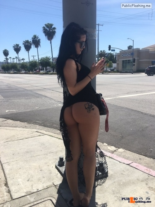 Public flashing photo nudeandnaughtyflashing: I do not think this will make the light…