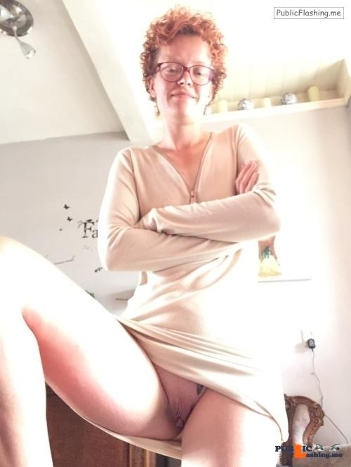Public Flashing Photo Feed : No panties Commando pantiesless