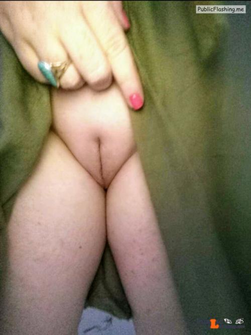 No panties vandalsginger: Flashing on a Friday! @juicykitty85 Sweet… pantiesless