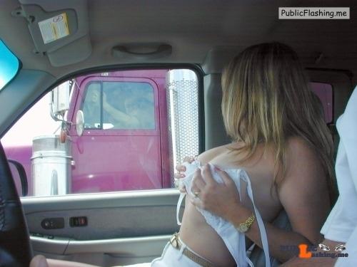 Public Flashing Photo Feed : Public flashing photo sexyexhibitionists: terimair:lol she has them hot Want you to