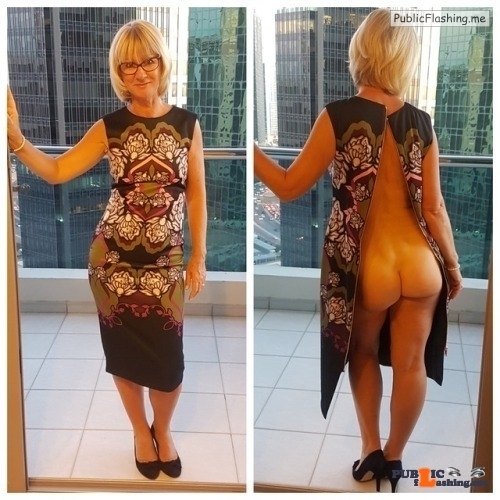 Public Flashing Photo Feed : Exposed in public Sexy MILF ass…