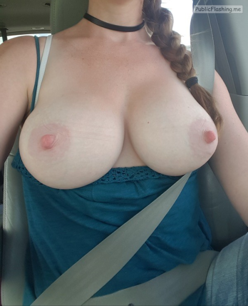 Outdoor nude selfshot Photo