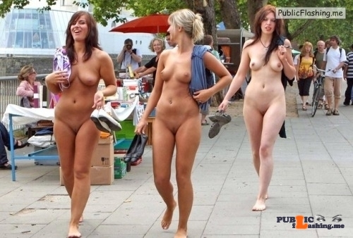 Public nudity photo groupofnakedgirls: fkk-nudist-naturist: ? Want to see more…