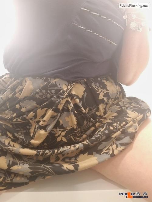 Public Flashing Photo Feed : No panties Happy no thong thursday @nakedandengaged pantiesless