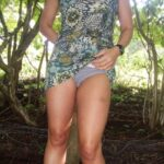 No panties @yesjimjam16 removing her panties on a hike. Thanks for the… pantiesless