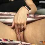 No panties realsexywife25: On the way home from a day date – I forgot to… pantiesless