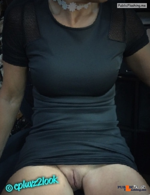 No panties cpluvz2look: Quick up skirt from Her during the work day! pantiesless