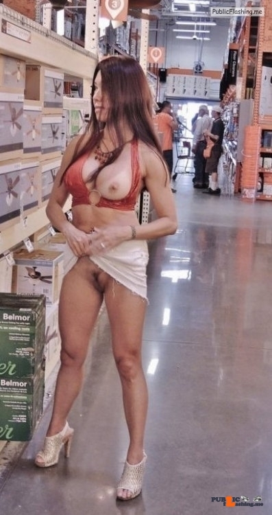 Public nudity photo nudeandnaughtyflashing:I will make sure the honey do list is…