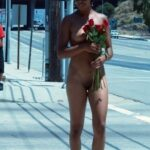 Public nudity photo tha-nana: Roses for the lady. The NANA Follow me for more…