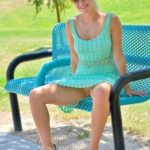 FTV Babes upskirt Stella went to the park in her pretty, breezy, summer dress. She…