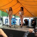 Public nudity photo johthemodel: Hoy en la primera feria cultural Morvoz. Leyendo…
