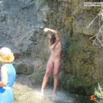 Public nudity photo cjustcuz:And rinse! Follow me for more public exhibitionists:…