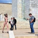Public nudity photo p-s-s:Luv that slit… Follow me for more public exhibitionists:…