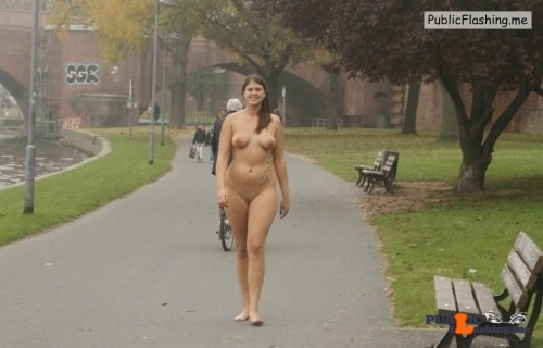Public nudity photo nakedcascadia: nudieman: BBW with a nice ass naked in…