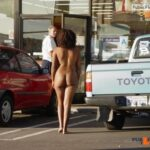 Public nudity photo nudieman: Bold! Barefoot! Nude in Public! re-blog, download and…