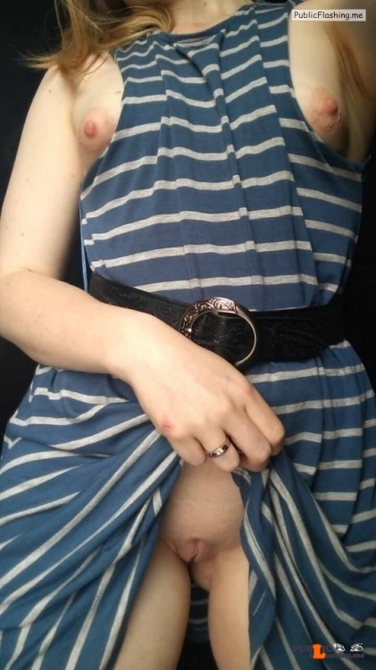 No panties amateur-naughtiness: Will this outfit get me some love?… pantiesless